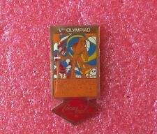 Pins COCA COLA J.O. Affiche 5ème OLYMPIAD STOCKHOLM 1912 Jeux Olympique