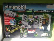 SET PLAYMOBIL REFERENCIA 4880 TOP AGENTES