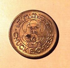 Chuck E. Cheese Smile America Say 1983 In Pizza We Trust 25 Cent Play Value