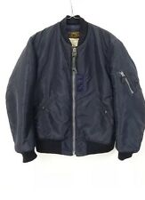 Buzz Rickson's For Nom De Guerre MA-1 Bomber Jacket Navy.