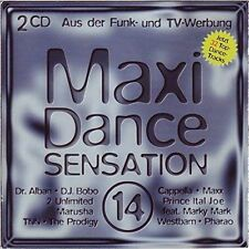 Maxi Dance Sensation 14 (1994) Dr. Alban, DJ Bobo, Worlds Apart, M-Peop.. [2 CD]