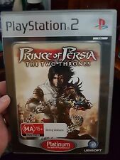 Prince of Persia - The Two Thrones (no booklet) - PLAYSTATION 2 PS2  - FREE POST