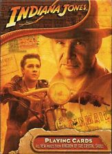 Indiana Jones and the Kingdom of the Crystal Skull Playing Cards Carte da Gioco
