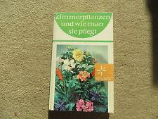Sachbuch: Zimmerpflanzen und wie man sie pflegt