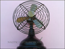 Antique Vintage Nautical Gift Collectible Old Brass Decorative Working Table Fan