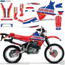Graphic Kit Honda XR 650L 650 L Decal Wrap w Backgrounds Sticker XR650L 93-16 LO