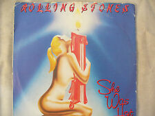 ROLLING STONES SHE WAS HOT / blue label rsr 114