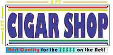 CIGAR SHOP Banner Sign NEW Larger Size for Smoke Shop Convenience Store Market
