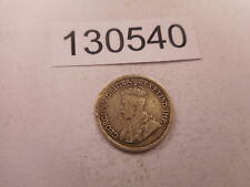 1914 Canada Five Cents Silver Low Grade Filler Cull Collectible - # 130540