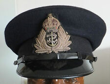 WW2 Royal Navy Officers Visor Cap 58cm