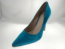 Vince Camuto Women's Norida Suede Ankle-High  Pump Turquoise Color Size 10M