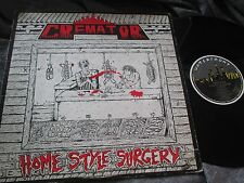 CREMATOR Album, Home Style Surgery 1ED 88 on Waterfront TRASH METAL AUSTRALIA LP