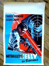 belgian poster, MACHINE GUN KELLY, CHARLES BRONSON, ROGER CORMAN