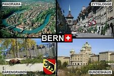 SOUVENIR FRIDGE MAGNET of BERN SWITZERLAND