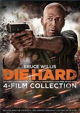 Die Hard 1 2 3 4: The Ultimate Collection (DVD, 2014, 4-Disc Set) NEW