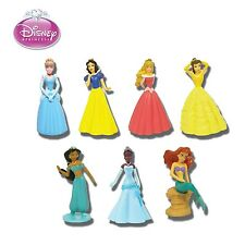 Set 7 Figure PRINCIPESSE DISNEY Princess BUILDABLE FIGURES Originali TOMY Japan