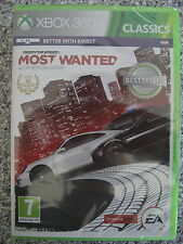 Need For Speed Most Wanted para Xbox 360 PAL (nuevo Y Sellado)