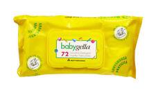 BABYGELLA Salviette Detergenti Delicate con Salvia e Camomilla 72 pz