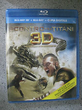 SCONTRO TRA TITANI 3D  ( blu ray 3d + blu ray + copia digitale )
