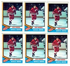 1X MARCEL DIONNE 1974-75 Topps #72 EXNM Detroit Red Wings Lots Available