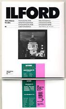Carta fotografica bianco e nero Ilford 30x40 Multigrade FB baritata lucida 10f