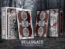 HellsGate Black Playing Cards