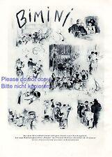 Wohltätigkeitsfest Bimini Berlin XL Kunstdruck 1929 Richard Duschek Neugarten -
