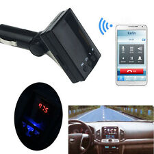 LED Wireless Bluetooth FM Transmitter USB Charger Handsfree Car Kit MP3 Player