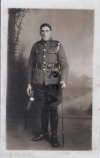 WW1 Soldier KOSB Kings own Scottish Borderers Transport Section ?