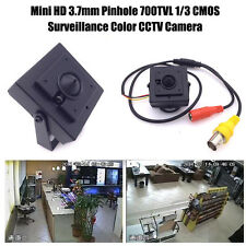 Mini HD 3.7mm Pinhole 700TVL 1/3 CMOS Surveillance Color CCTV Camera ozus