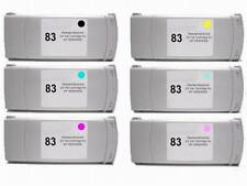 6PK Compatible C4940A - C4945A #83 Ink Cartridge for HP 5000ps 5500ps 5500 UV-42