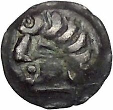 CENTRAL ASIA Sogdiana Kingdom Ancient 4thCenAD Ancient Greek Style Coin i45608