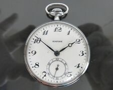 100% Authentic SEIKO EMPIRE Hand Winding Pocket Watch SEIKOSYA Japan Vintage