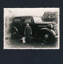 Kleiner Junge Putzt OPEL 1,3 LITER Cleaned by Little Boy * Foto um 1938 keine AK