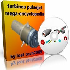 BUILD YOUR OWN TURBINES READY CNC PULSEJETS FREE PISTON JET ENGINE PLANS ON DVD