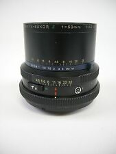 Mamiya RZ67 Z 50MM F4.5 Wide Angle Lens for all RZ67 Models, EC