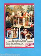 TOP989-PUBBLICITA'/ADVERTISING-1989- MATTEL- LA CASA DI CAMPAGNA DI BARBIE