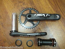 RACE FACE NEXT SL 170 36T CARBON CRANKSET SPINDLE SPACER THREADED BOTTOM BRACKET