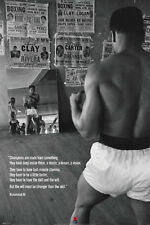 "Muhammad Ali Training in the Gym Boxing Vintage Poster 24"" x 36"" Sport l03"