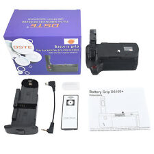 DSTE Remote Vertical Pro Battery grip for Nikon D5300 D5100 D5200 Camera