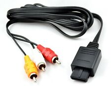 "CABLE VIDEO PERITEL RCA CONSOLE SONY PLAYSTATION PS1 PS2 PS3 ""NEUF"" APS20360"