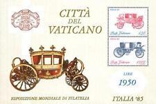 Vaticano 1985 Bf 8 Esposizione mondiale di filatelia a Roma MNH