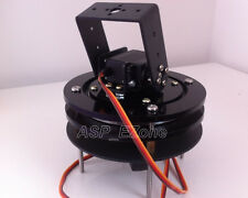 2-Axis 2 DOF Mechanical PTZ Acrylic Chassis Robot Bracket (no servo)