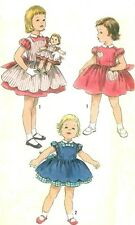 "VINTAGE 15"", 18"", 22"" and 25"" sz FOR SWEET SUE, BINNIE DOLL CLOTHES PATTERN 1745"