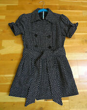 MISS posh baby doll/lolita style sleevless jacket-taille 6 (xs)