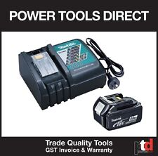 NEW MAKITA 18 VOLT 18V CORDLESS BL1840 4AMP BATTERY AND DC18RC CHARGER