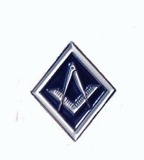 Metal Enamel Pin Badge Brooch Masonic Symbol Masons Freemasons Members