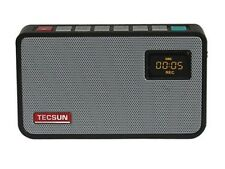 TECSUN ICR-100 FM Stereo Radio with Digital Recorder MP3 Player+ Free 4G SD Card
