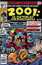 2001: A SPACE ODYSSEY #6 F, Jack Kirby cover and art, Marvel Comics 1977