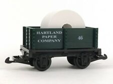 Hartland Locomotive Works Paper Company Mini Gondola 15114 G Scale Model Trains